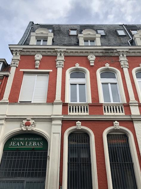 Réf 2088SC- Façade rue JB Lebas Roubaix