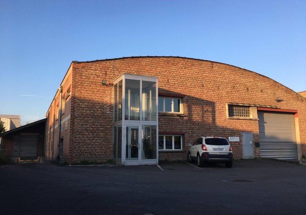 facade réf 1409GC Tourcoing entrepôt